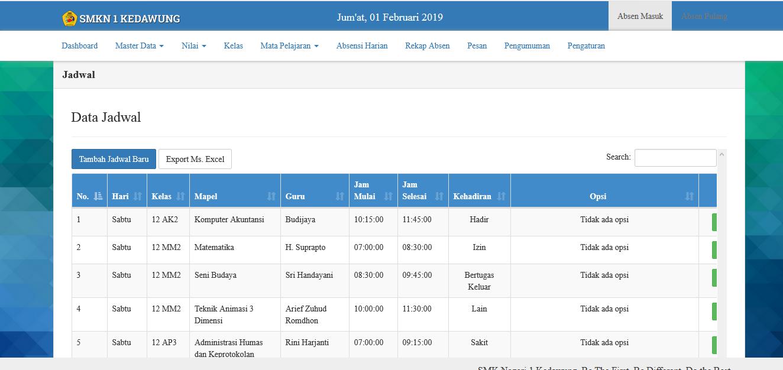 Download Source Code Sistem Informasi Siakad Sma Dan Smk Berbasis Web