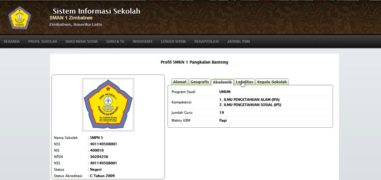 Download Source Code Sistem Informasi Sekolah Berbasis Web