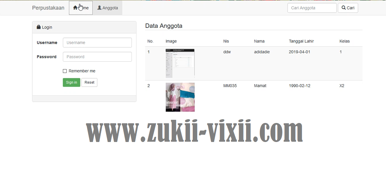 Download Source Code Aplikasi Perpustakaan Berbasis Codeigniter