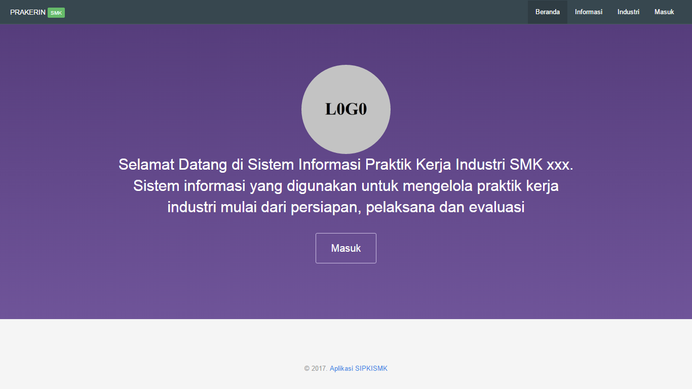 Download Source Code Sistem Informasi Praktik Kerja Industri