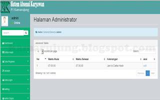 Download Source Code Aplikasi Simulasi Finger Print Untuk Absensi Berbasis Web