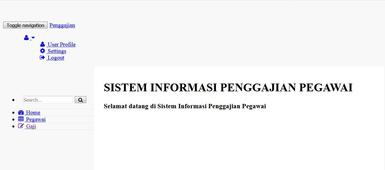 Download Source Code Sistem Informasi Penggajian Dengan Php