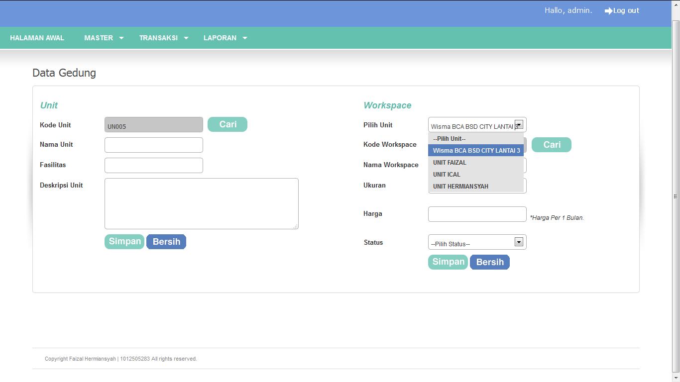 Download Source Code Aplikasi Sistem Informasi Pengolaan Gedung Berbasis Web