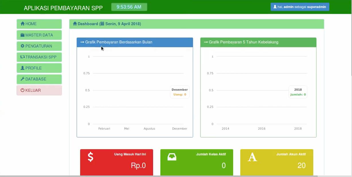 Download Source Code Aplikasi Pembayaran Spp Sekolah Berbasis Web