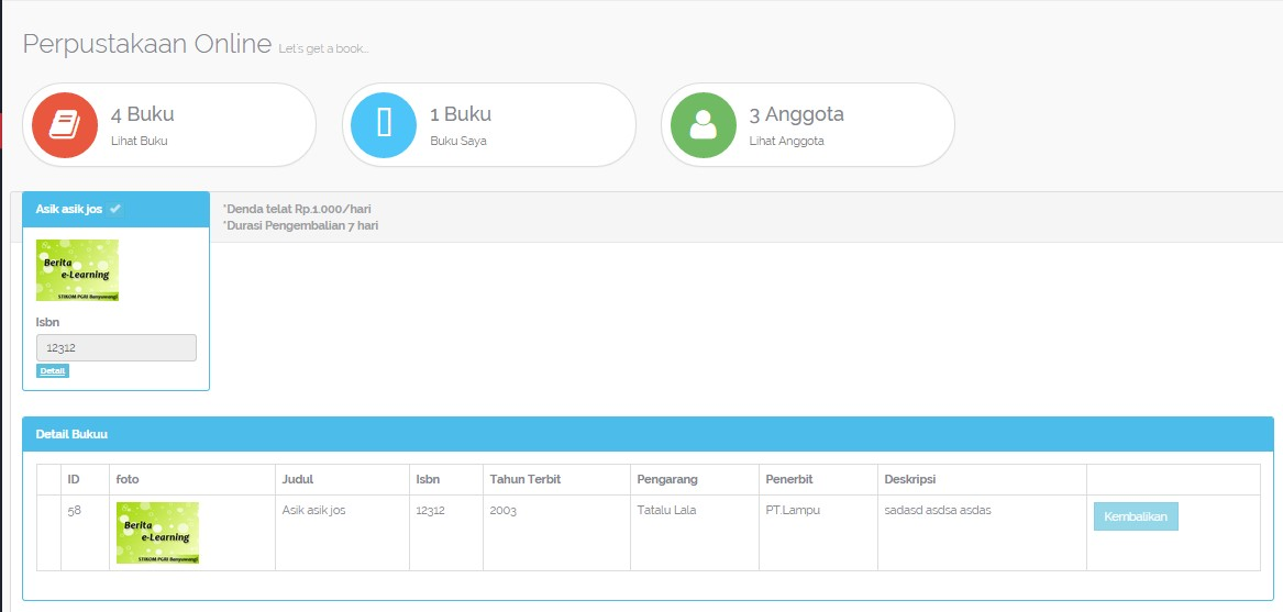 Download Source Code Aplikasi Sistem Perpustakaan Berbasis Web