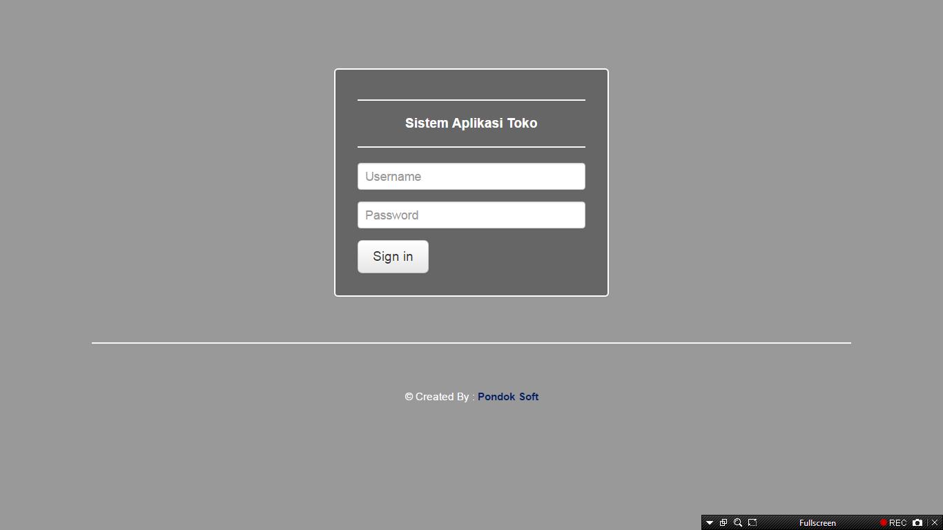 Download Source Code Aplikasi Sistem Penjualan Berbasis Web (POS)