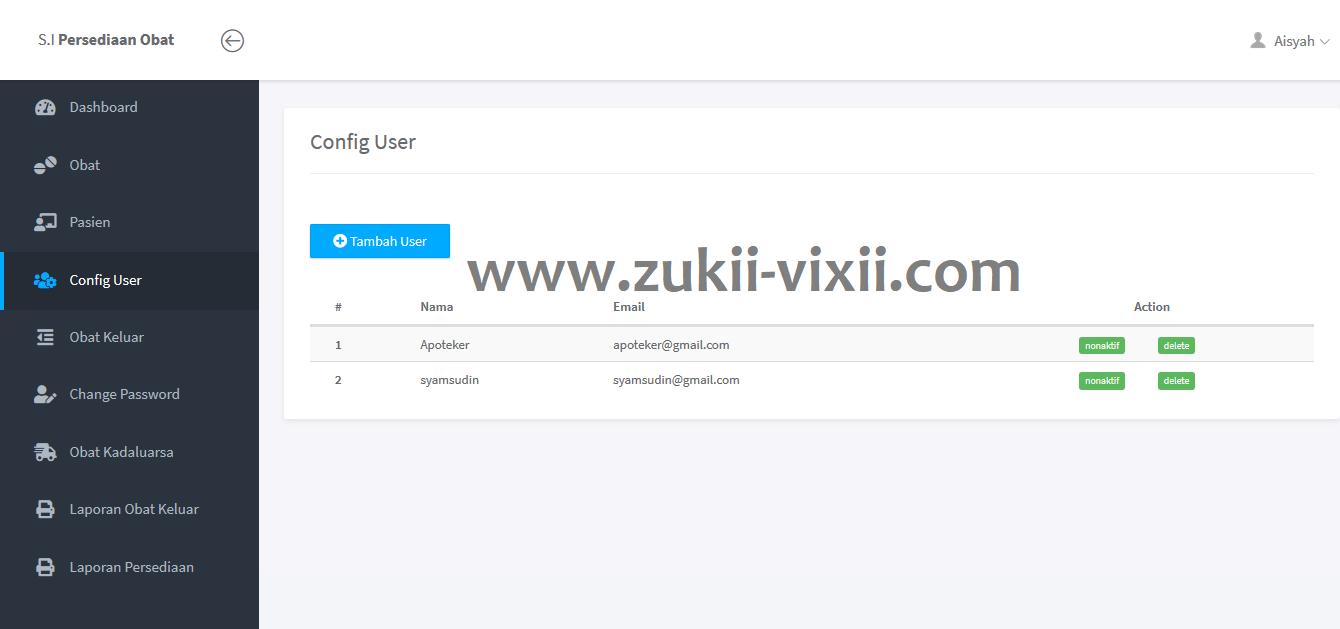 Download Source Code Aplikasi Persediaan Obat Puskesmas Berbasis Web