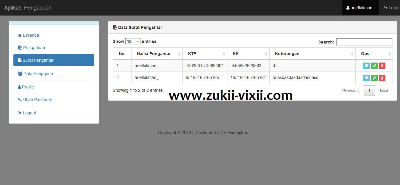 Download Source Code Aplikasi Pengaduan Berbasis Web