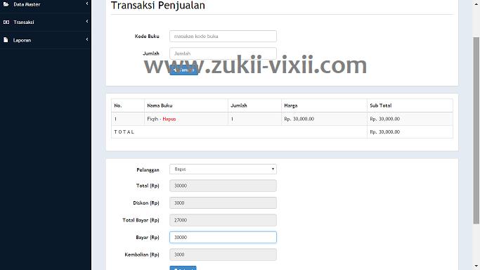 Download Source Code Aplikasi Penjualan Komplit Berbasis PHP dan MySQL