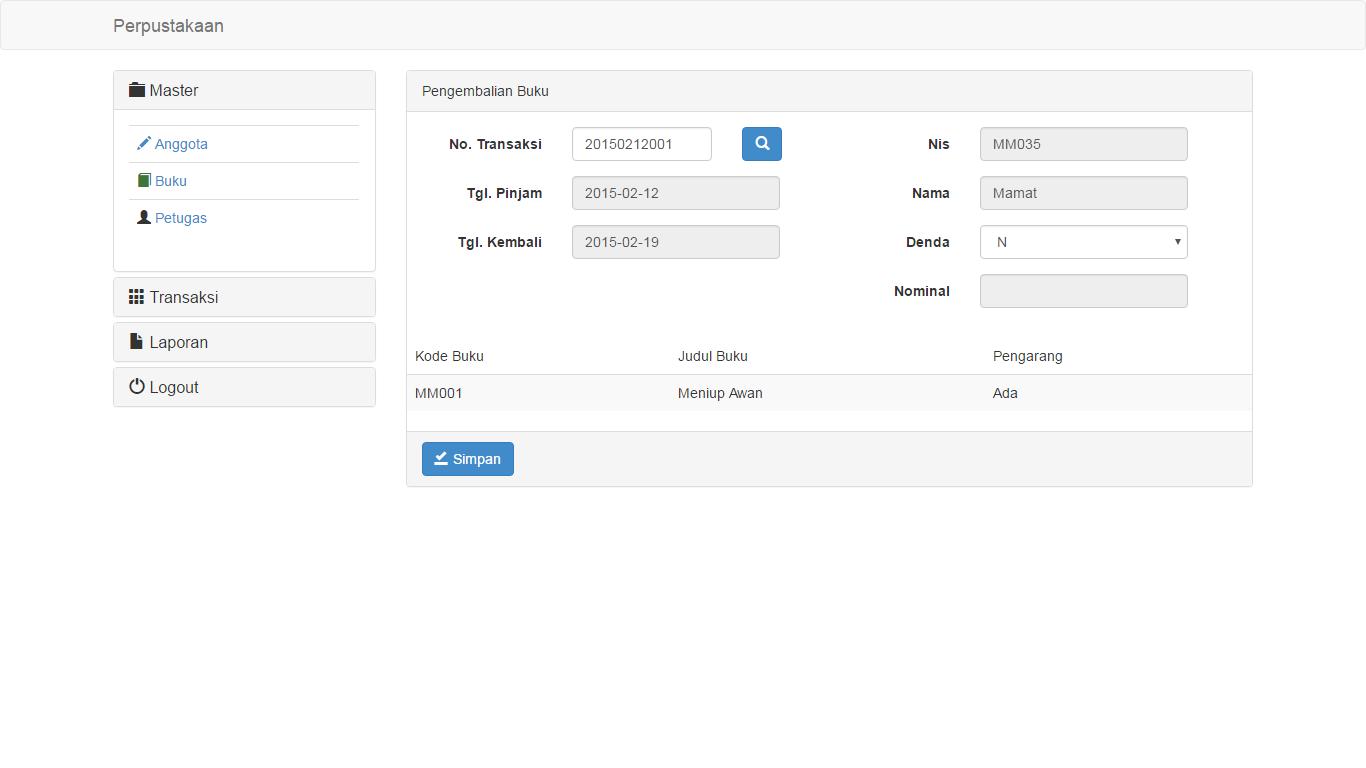 Download Source Code Aplikasi Perpustakaan Digital Berbasis Web